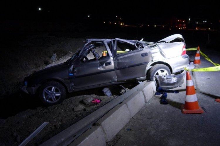 Yozgat'ta feci kaza! 1 ölü, 6 yaralı