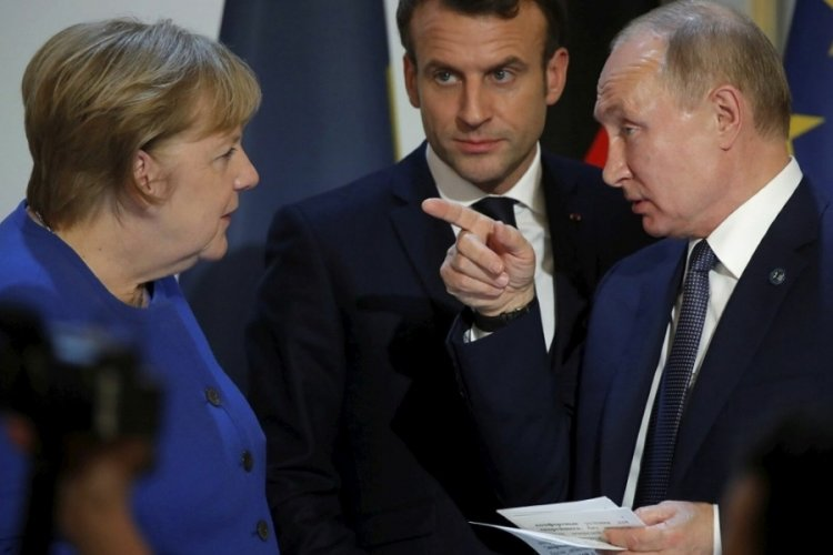 Putin, Merkel ve Macron ile telefonda görüştü