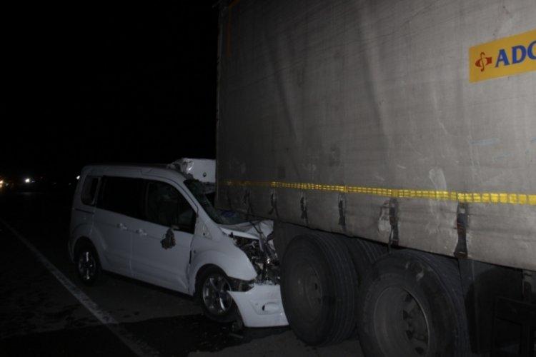 Konya'da zincirleme kaza! 1 kişi öldü