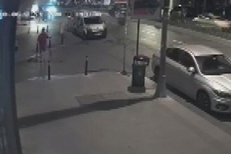 İstanbul Fatih'te tek teker kazası
