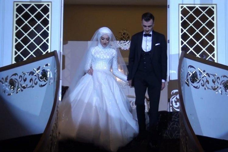 Bursa'da 20 kişinin şahitlik ettiği nikah şaşırttı