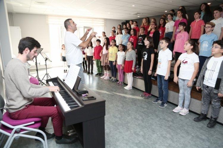 Bursa'da Nilüfer Çocuk Korosu yeni koristlerini arıyor