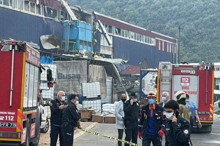 Bursa Kestel'de fabrikada patlama: 1 ölü, 6 yaralı