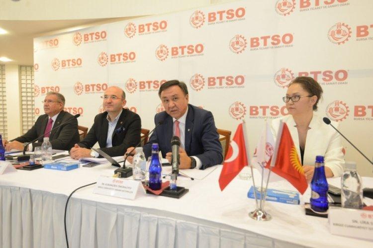 Kırgızistan'dan Bursa'ya yatırım daveti