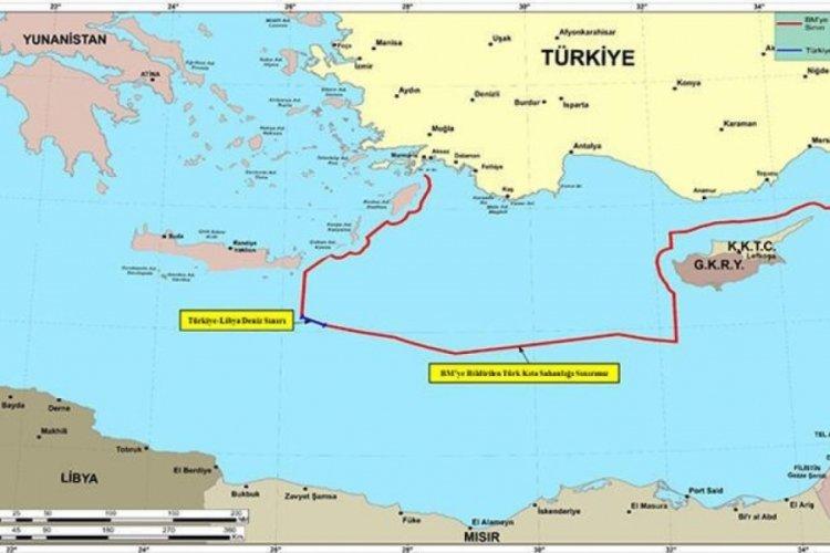 MSB'den 'ilan edilen NAVTEX'le Yunanistan ve GKRY'nin tezlerine uygun hareket edildi' iddiasına cevap