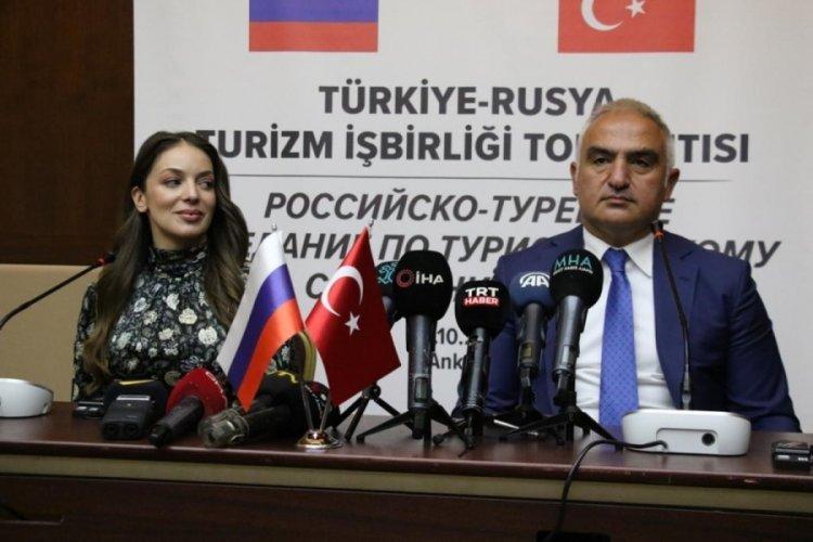 Bakan Mehmet Nuri Ersoy: Yıl sonuna kadar 4 milyondan fazla Rus misafiri ağırlayacağız