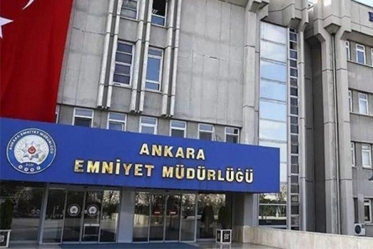 Ankara'da bir emniyet müdür yardımcısı ile bir polis memuru arasında geçen olayla ilgili açıklama yapıldı