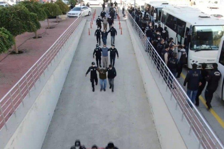 Konya'da infaz timi kuran silahlı suç örgütü üyeleri tutuklandı