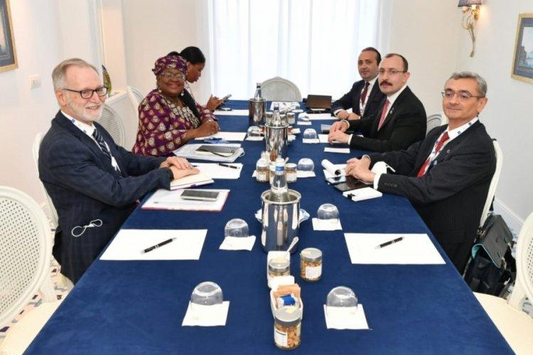 Ticaret Bakanı Mehmet Muş, İtalya'da ikili temaslarına devam etti