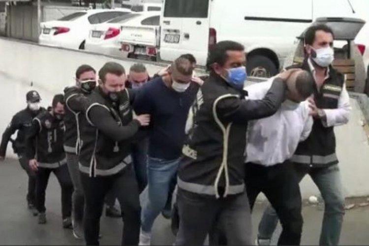 İstanbul'da suç örgütü lideri Afganistan uyruklu Ahmadi ile 5 çete üyesi adliyeye gönderildi