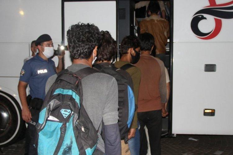 Samsun'da 6 kaçak göçmen tespit edildi