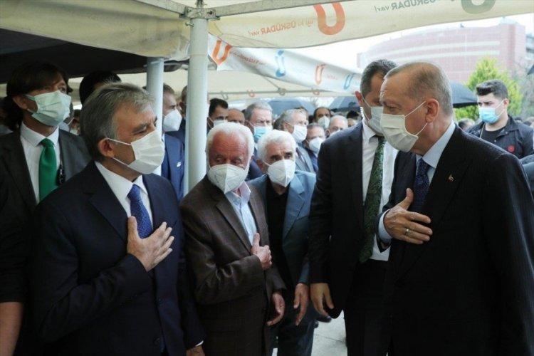Cumhurbaşkanı Erdoğan ile Abdullah Gül uzun aradan sonra bir araya geldi