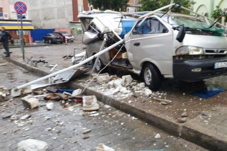 Aydın'da 7 kişi fırtına sebebiyle yaralandı