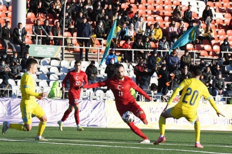 Ümit Milliler, Kazakistan'ı mağlup etti