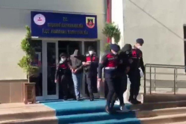 Film gibi olay: Sahte jandarmalar gerçek jandarmalara yakalandı