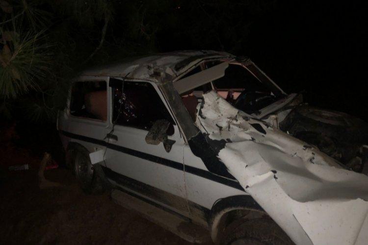Bursa'da off-road kazası!