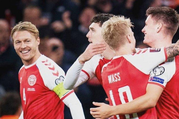 Danimarka, Dünya Kupası'nı garantiledi