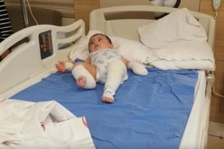 Ağrı'da 10 aylık bebeğin üzerine kaynar su döküldü