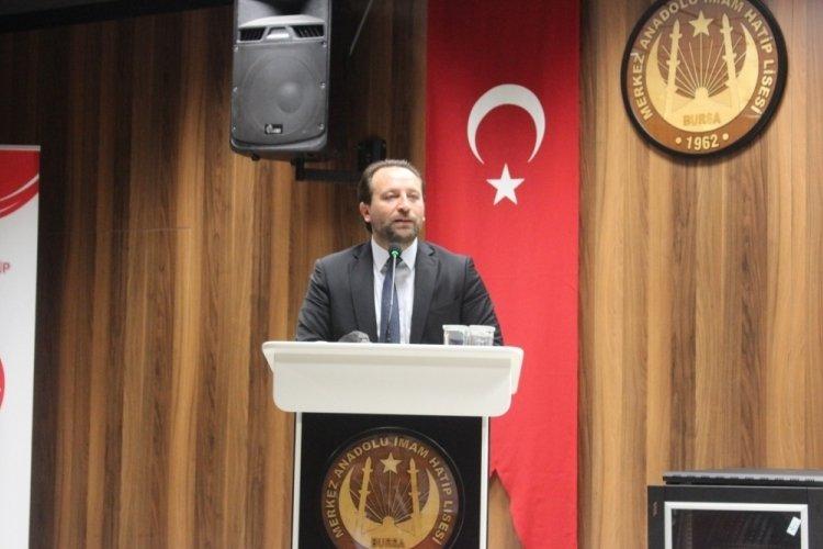 Bursa İl Millî Eğitim Müdürü Gür, imam hatip okullarının müdürleriyle bir araya geldi