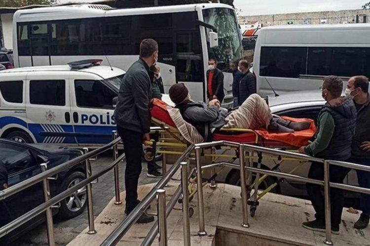 Zonguldak'taki 'Çekirge' operasyonunun 26 şüphelisi adliyede sevk edildi