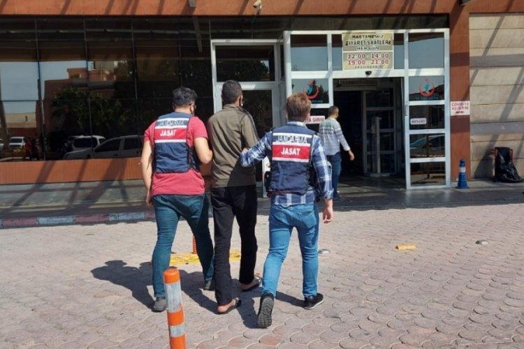 Kilis'te kesinleşmiş hapsi bulunan cezaevi firarisi yakalandı