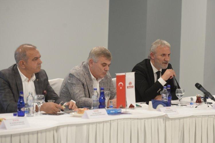 Bursa'daki Oda ve Borsalar GUHEM'de bir araya geldi