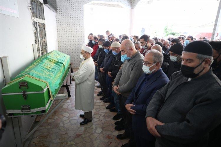 Bursa'da fabrikadaki patlamada ölen işçinin cenazesi toprağa verildi