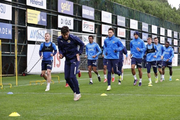 Fenerbahçe'de Marcel Tisserand takımla çalıştı