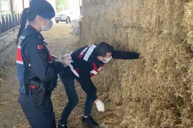 Bursa'da saman balyalarının arasından 139 bin lira çıktı