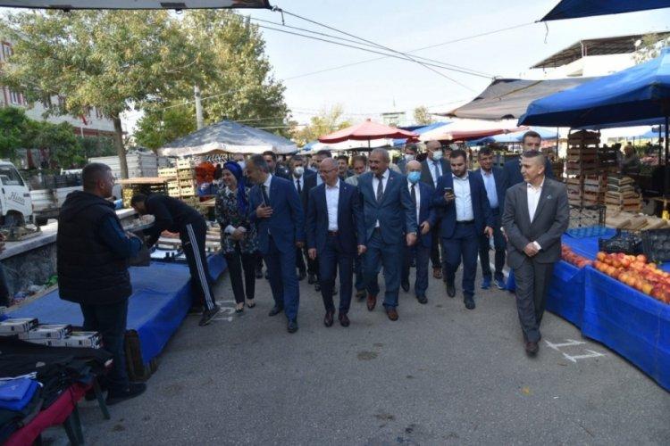 AK Parti Bursa İl Başkanı Davut  Gürkan: Her hizmetimiz halkımızın çözülen talebidir