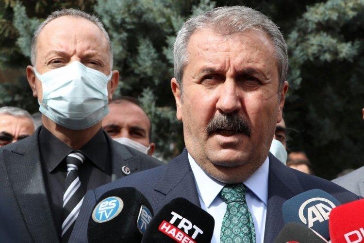 Mustafa Destici: Kılıçdaroğlu'nun, elindeki bilgi ve belgeleri yetkililerle paylaşması lazım