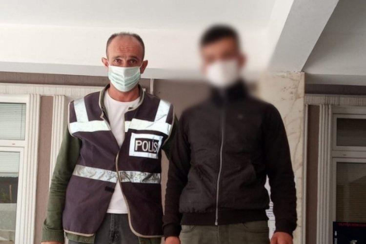 Manisa'da 16 dairenin su sayacını çalan şüpheli yakalandı