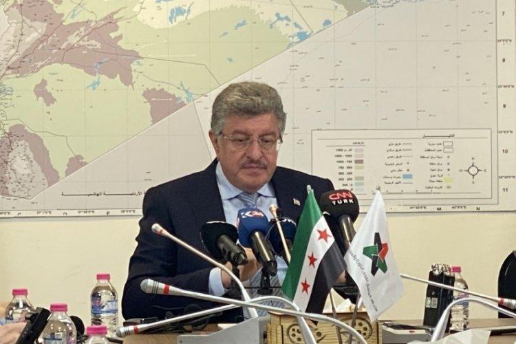 Suriye muhalefetinin Başkanı Muslat, ABD temaslarını hakkında değerlendirmede bulundu