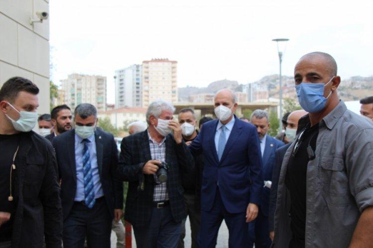 Numan Kurtulmuş Mardin'de STK temsilcileriyle bir araya geldi