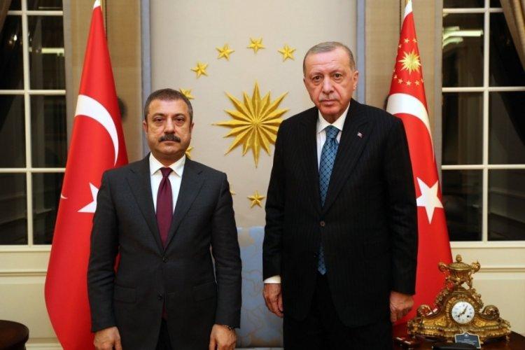 Cumhurbaşkanı Erdoğan, Kavcıoğlu ile görüştü