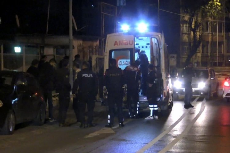 Denetim noktasından kaçanlar ateş açtı: 1 polis yaralandı