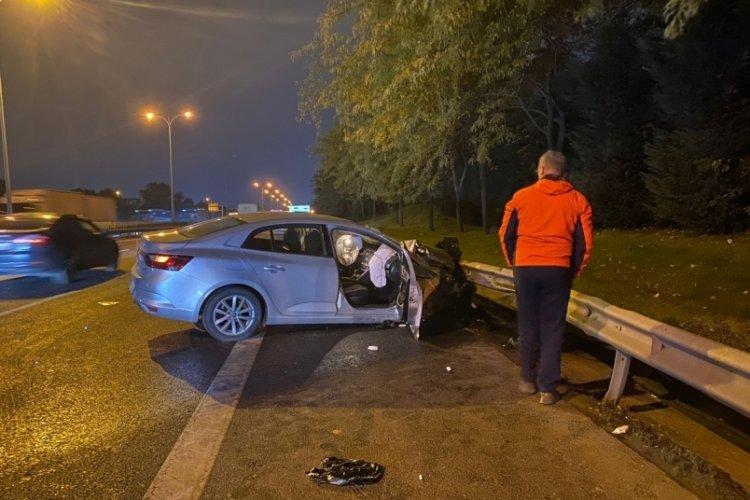 İstanbul Esenler'de zincirleme kaza; 2 yaralı