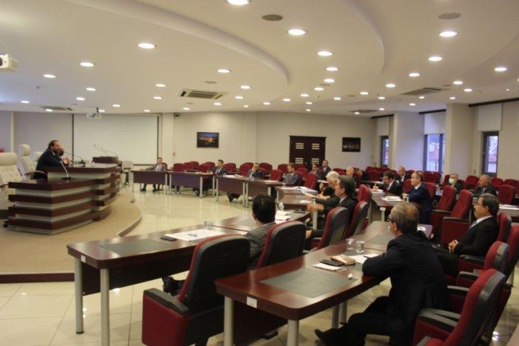 Bursa İl Millî Eğitim Müdürü ilçe millî eğitim müdürleriyle buluştu