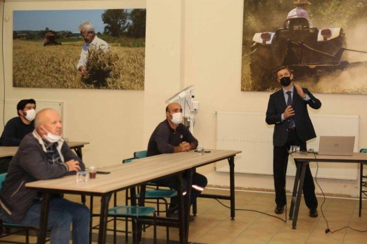 Bursa Çiftçi Evi'nde zeytin yetiştiriciliği eğitimi