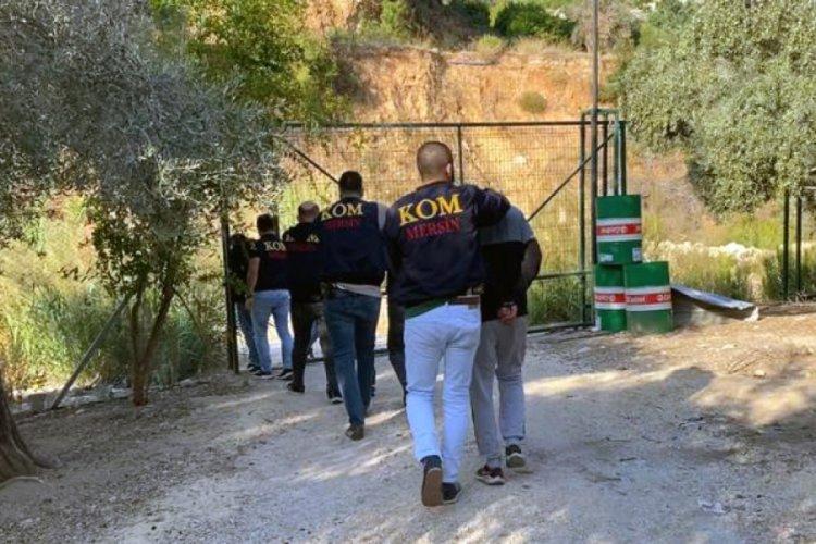 Mersin'de iş insanını kaçırıp 1,5 milyon TL fidye alan şüphelilere operasyon! 9 gözaltı