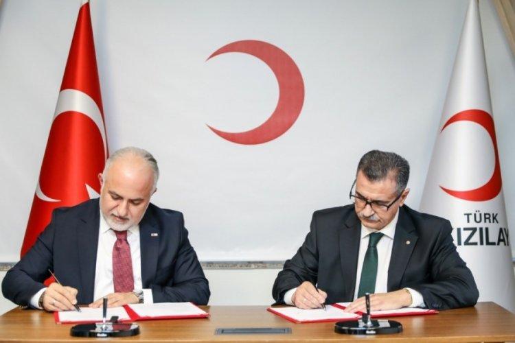 Türk Kızılay Azerbaycan Kızılay'ının insani yardım kapasitesini geliştirecek