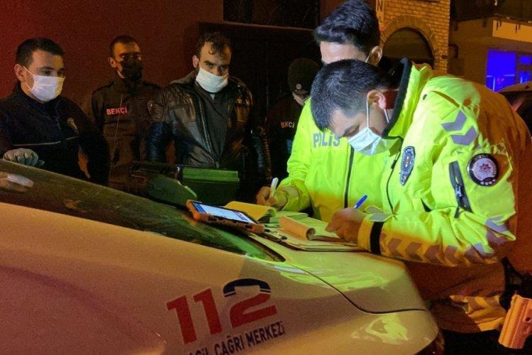 Bursa'da markete gitmek için ödünç aldığı motosiklette uyuşturucu ile yakalandı