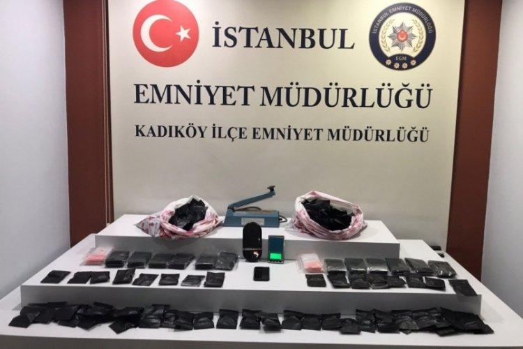 İstanbul Kadıköy ve Kağıthane'de uyuşturucu operasyonu