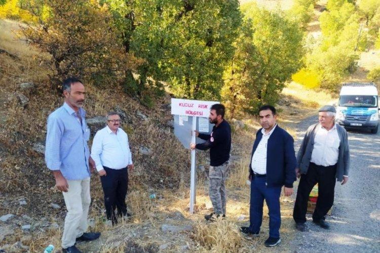 Adıyaman'da çiftçiye saldıran kurt kuduz çıktı, ilçede 6 aylık karantina kararı alındı