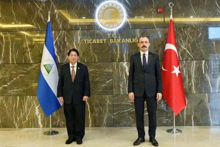 Ticaret Bakanı Muş, Nikaragua Dışişleri Bakanı ile görüştü