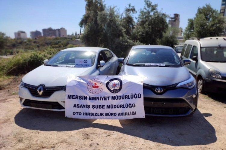 Otomobiller, Mersin'deki depoda parçalanmış olarak bulundu