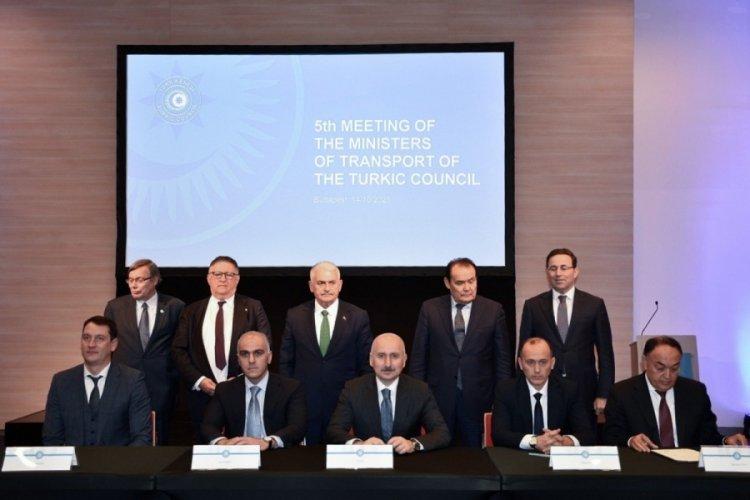 Ulaştırma ve Altyapı Bakanı Karaismailoğlu, Türk Konseyi 5. Ulaştırma Bakanları Toplantısı'na katıldı