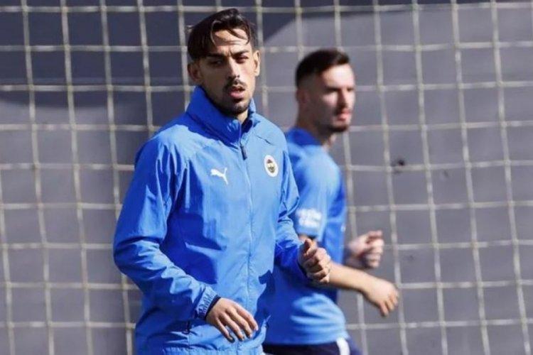 Fenerbahçe'de İrfan Can Kahveci takımla çalışmalara başladı