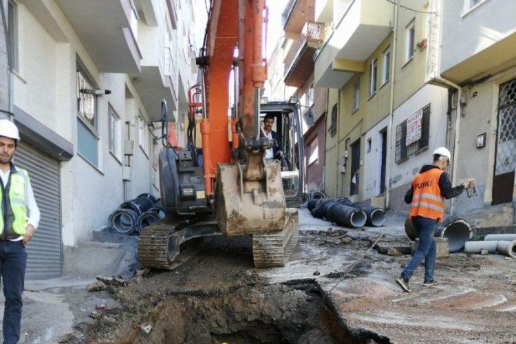 Bursa'da altyapı rehabilitasyonu tam gaz