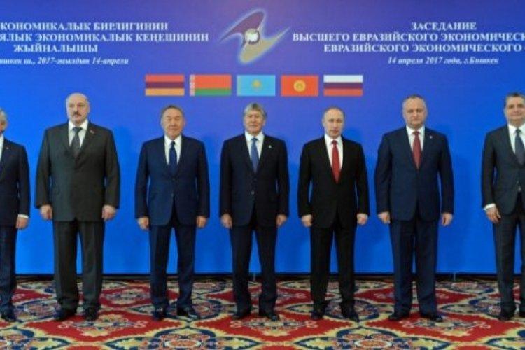 Avrasya Ekonomik Birliği Liderler Zirvesi toplandı